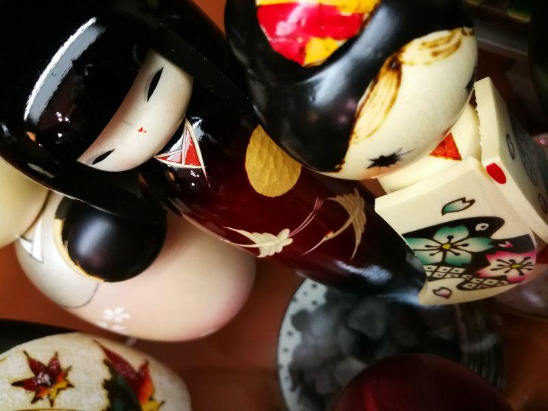 Bambole Kokeshi a Torino