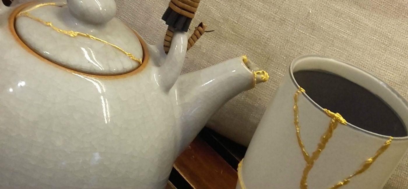 Arte Giapponese Del Kintsugi kinstugi: oggetti artigianali in ceramica   profumeria sachà