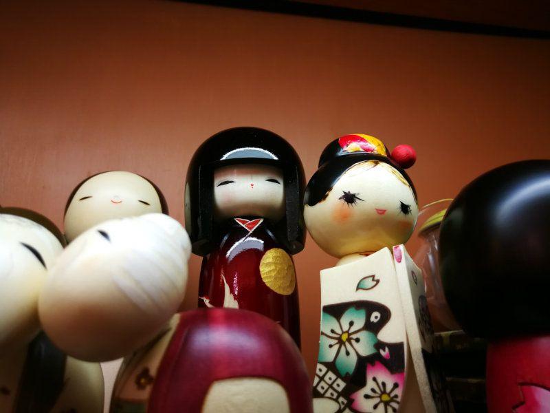 Oggetti regalo Kokeshi