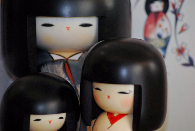 Bambole Kokeshi - Galleria 2
