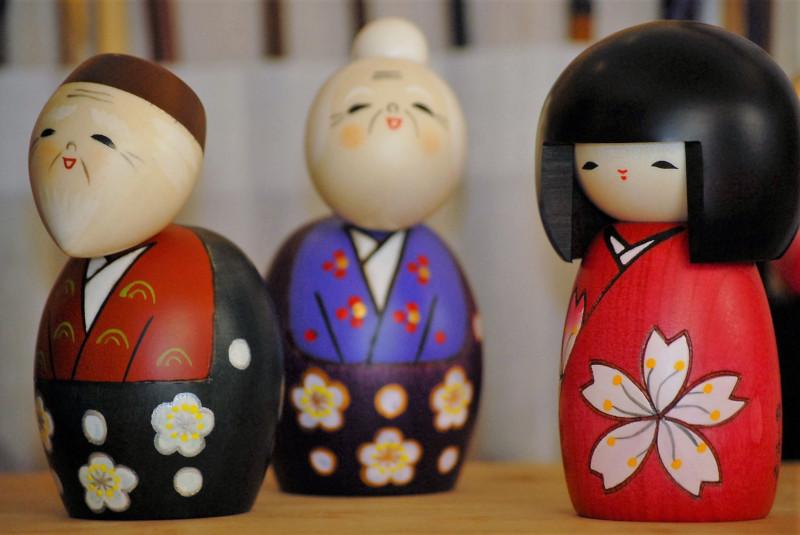 Bambole Kokeshi - Galleria 4