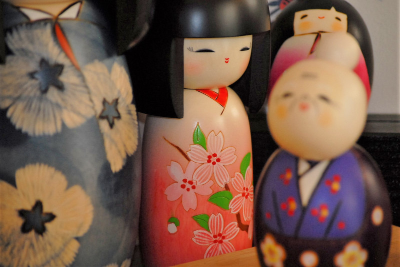 Bambole Kokeshi - Galleria